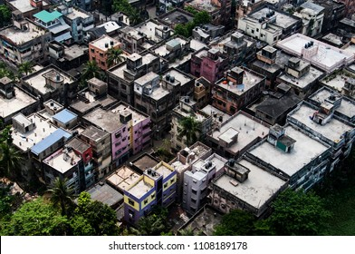 kolkata city from the rooftop
