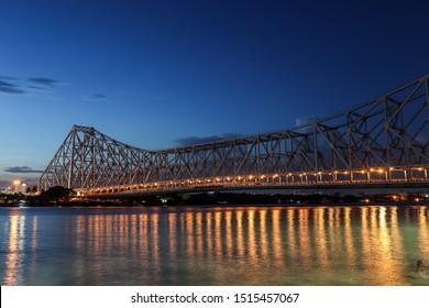 Kolkata City'of joy , Place Howrah Bridge