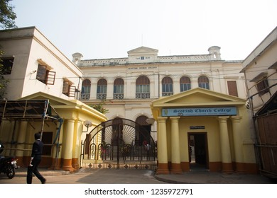 KOLKATA, INDIA,16 JANUARY 2018  : House of Swami vivekananda . It is located at 105 Vivekananda Road, Kolkata, India. In this house, Swami Vivekananda was born on 12 January 1863.