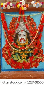 kolkata, West bengal, india: 7th Nov 2018- Goddess Tara is another form of Kali worshipped by Hindu people in India and worlwide.