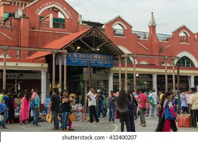 KOLKATA,INDIA - 21 May 2016 :The Sir Hogg Market better known as New Market located at 19, Lindsay street is arguably one of Calcutta's best shopping centers.