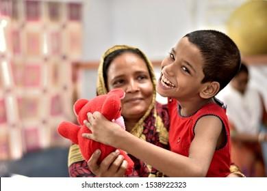 KOLKATA,INDIA,4/9/2019,Emotion of a neuro developmental disorders  child at  treatment center