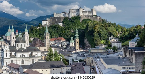 The Kollegienkirche (Collegiate Church) in Salzburg, Austria, is the Baroque style church of the University of Salzburg. Hohensalzburg Medieval Castle is one of the most famous baroque architectures.