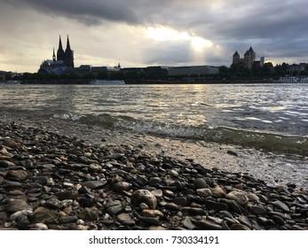 Koln by the river