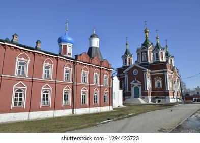 Kolomna Kremlin in the Moscow region