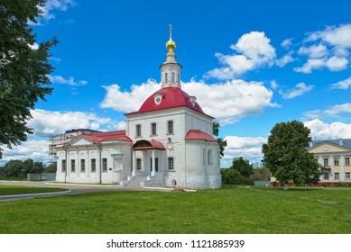 Kolomna Kremlin, Temple of Revival of Slovushchego, founded in the 14th century, landmark