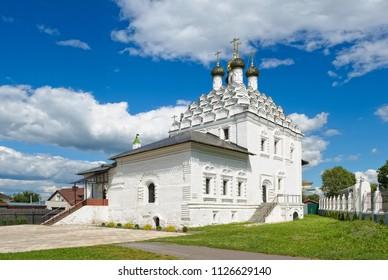 Kolomna, Old Believers Church of St Nicholas on Posada, 1716 - 1719, landmark