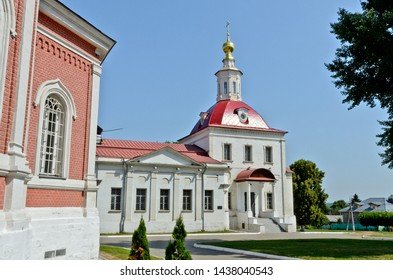Kolomna, Russia - June 22, 2019: Church of the Resurrection of the Word