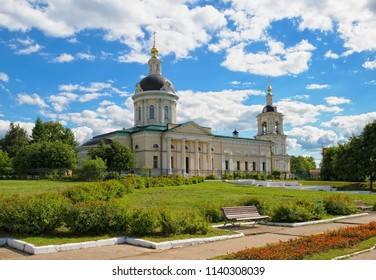 Kolomna, view of the Church of St. Michael the Archangel was built in the 18th century, landmark