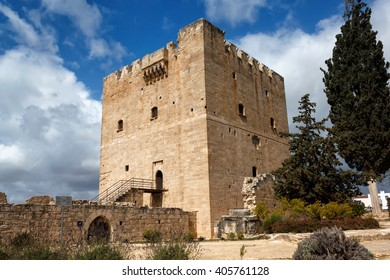 Kolossi Castle,strategic important fort of Medieval Cyprus,fine example of military architecture. Limassol District.