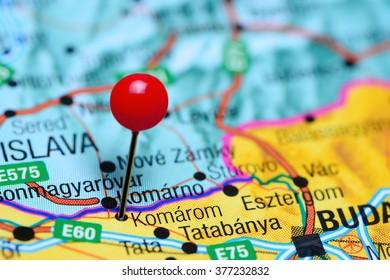 Tatabanya Pinned On Map Hungary Stock Photo (Edit Now ... on debrecen hungary map, sopron hungary map, kecskemet hungary map, szeged hungary map, budapest hungary map, pecs hungary map, ajka hungary map, bekescsaba hungary map, bratislava hungary map, vac hungary map, gyor hungary map, erd hungary map, papa hungary map, gyula hungary map, kaposvar hungary map, nyiregyhaza hungary map, pest hungary map, hungary on world map, magyar hungary map,