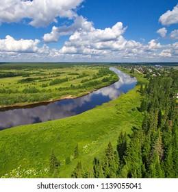 Komi landscape, Russia