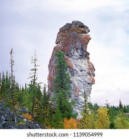 Komi landscape, Russia, Urals