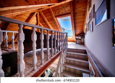 KOMIZA (VIS), CROATIA - MAY 15, 2017: - Traditional old Dalmatian house will charm you with its modern interior design made of stone and wood.