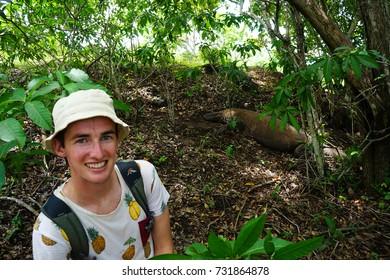 Komodo Islands National Park In Indonesia