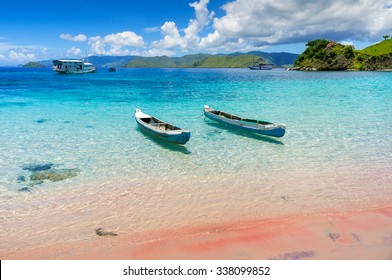 Komodo National Park - islands paradise for diving and exploring. The most populat tourist destination in Indonesia, Nusa tenggara.