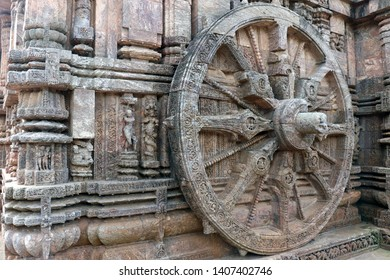 Konark Sun Temple in Odisha, India. It is a 13th-century CE sun temple at Konark about 35 K.M. northeast from Puri on the coastline of Odisha, India. Dedicated to the Hindu sun god Surya.