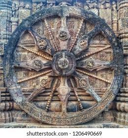 Konark Wheel of Sun Temple