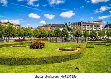 Kongens Nytorv - King's New Square - is a public square in Copenhagen Denmark