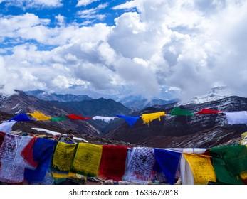 Kongmaru La at 5200m on the Markha Valley trek in Ladakh, North India