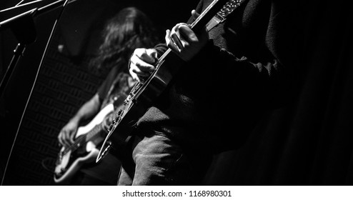 Konser, gitarist,