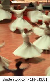 Konya Mevlana mosque and whirling dervish show