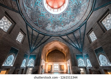 KONYA - TURKEY, April 2018, ince Minaret Medrese, Konya - Turkey