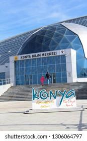Konya / Turkey - February 2, 2019: Konya Science Center