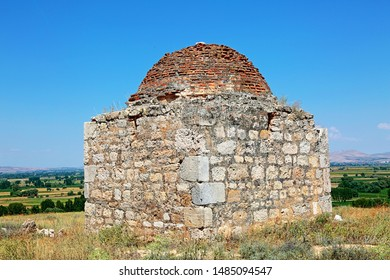 Konya / Turkey - July 24, 2019: Sungur Bey Tomb located in Ilgın district of Konya.