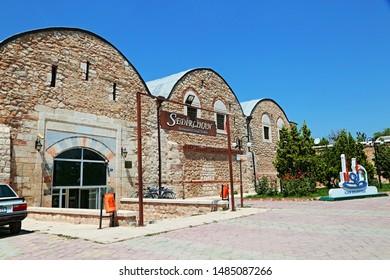Konya / Turkey - July 25, 2019: Lala Mustafa Pasha Complex located in Ilgın district of Konya