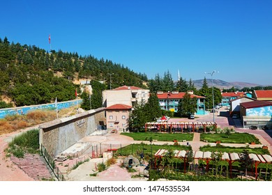 Ilgın, Konya / Turkey - July 29, 2019: A view from Ilgın district of Konya