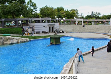 Konya / Turkey - June 22, 2019: A view from Kultur Park in Konya