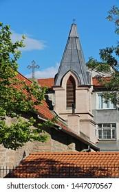 Konya / Turkey - June 29, 2019: St. Pavlos Catholic Church in Konya