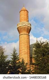 Konya / Turkey - March 3, 2019: Tahir Pasha Mosque in Konya