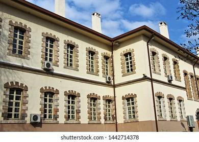 Konya / Turkey - March 4, 2019: Konya Province Mansion belonging to Ottoman period