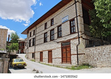 Konya / Turkey - May 18, 2019: Ak Mosque in the Sille neighborhood of Konya