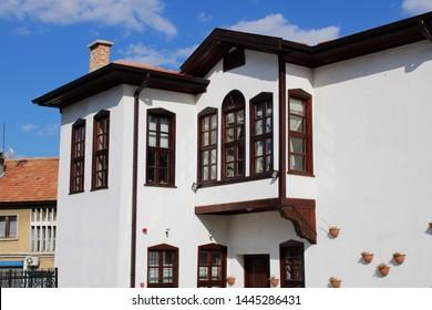 Konya / Turkey - May 19, 2019: An old traditional house in Konya
