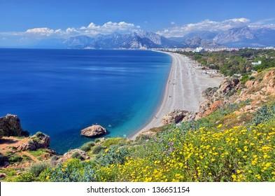 Konyaalti beach, Antalya