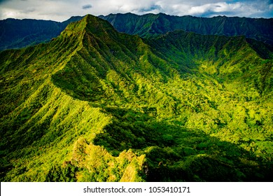 Ko'olau Mountain Range, Oahu