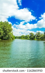 Kopacki rit nature park in Slavonia, Croatia, popular tourist destination and birds reservation