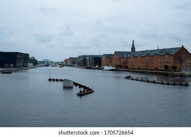 Kopenhagen city view, photographed August 2018