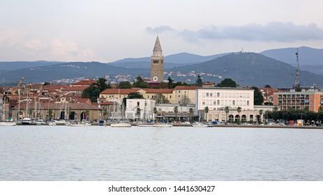 Koper Town at Adriatic Sea in Slovenia
