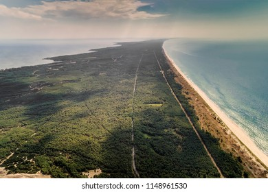 Kopgalis is the territory of Klaipeda city, located west of the city center, at the northernmost end of the Curonian Spit National Park, where the Curonian Lagoon connects with the Baltic Sea.