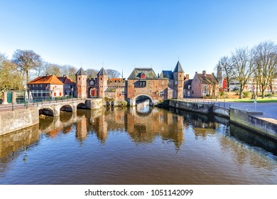 The Koppelpoort is a medieval gate in the Dutch city of Amersfoort