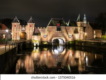 The Koppelpoort, a medieval gate in the Dutch city of Amersfoort, province of Utrecht