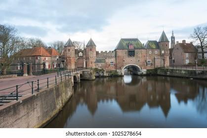 Koppelpoort, old city gate of Amersfoort
