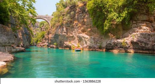 Koprulu canyon, Koprucay river - Antalya,Turkey
