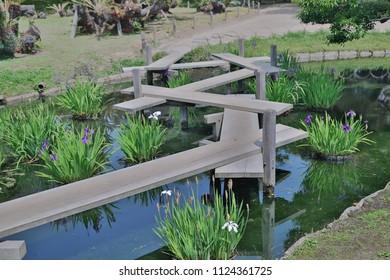 a Korakuen; Japanese garden in Okayama; Japan