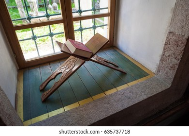 Koran and tasbih by the window, Koran, Quran