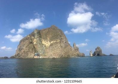 Korea islet dokdo
